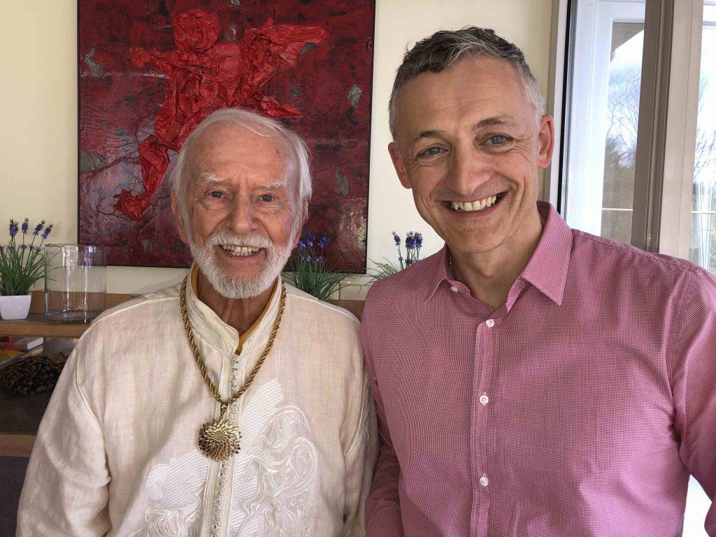 Besuch von Michael Linnig bei Kurt Tepperwein in Lindau